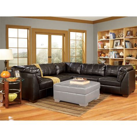 San Marco Sofa by San Marco Chocolate 5 Modular Sectional By