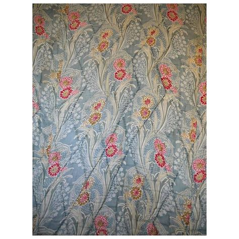 Printed Quilt by Antique Nouveau Printed Quilt At 1stdibs