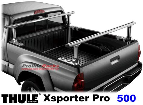 Truck Bed Racks by Thule 500 Xsporter Pro Truck Aluminum Bed Ladder Rack