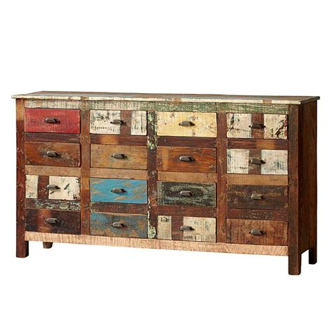 kommode vintage bunt sideboard bunt awesome sideboards und kommoden bunt