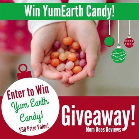 50 yumearth candy christmas giveaway - Christmas Candy Giveaways