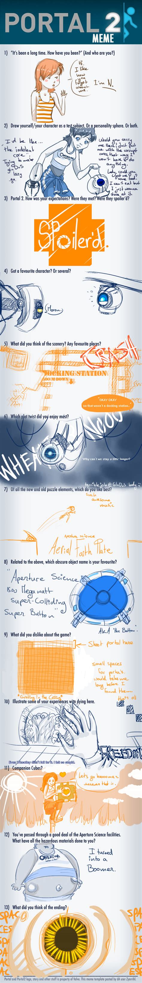 Portal Memes - portal 2 meme of spoilerism by voicelesss on deviantart