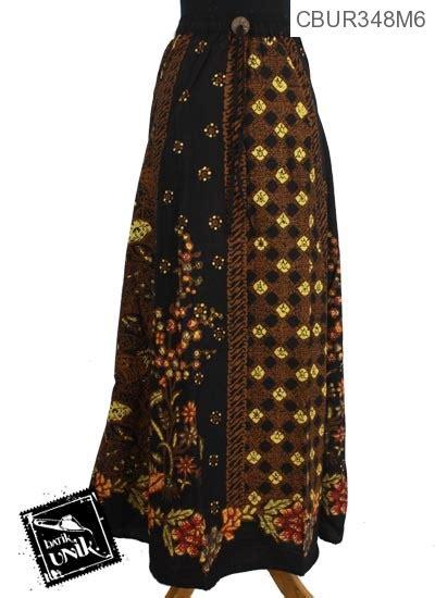 Rok 6 Tingkat Model Payung rok payung panjang katun motif kembang klasik bawahan rok murah batikunik