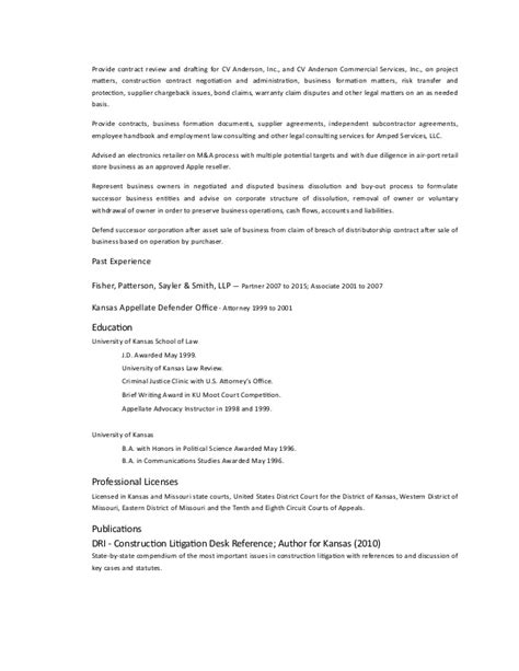 dce firm resume 2016