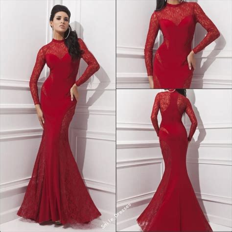 prom dresses in colors red black blue prom red black royal blue mermaid long sleeve prom dresses 2015