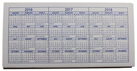 Check Calendar 10 Checkbook Registers 2017 2018 2019 Calendars Apparel