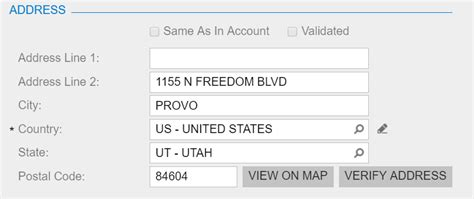 Address Verification Letter Usps usps address validation for acumatica cloud erp github project