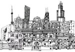 Drawings awesome with images of city buildings minimalist new in ideas