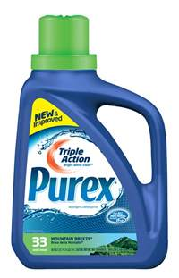 Washing Bright Colors - purex triple action liquid detergent product review pieces of a mom