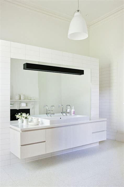 white bathroom bathroom make stylish bathroom add floating vanity