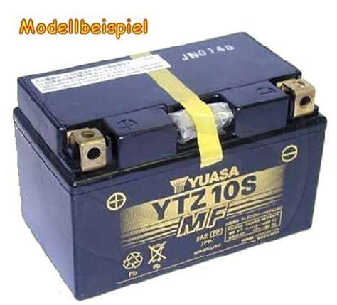 Motorradbatterie Honda Cbf 1000 by Motorrad Batterie Ytz10s F 252 R Honda Cbf 500 600 1000 Ebay