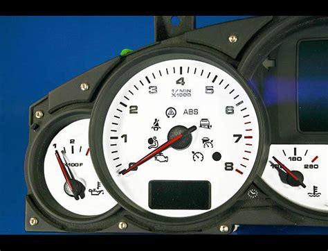 security system 2003 porsche cayenne instrument cluster 2003 2009 porsche cayenne dash cluster white face gauges 03 09 ebay