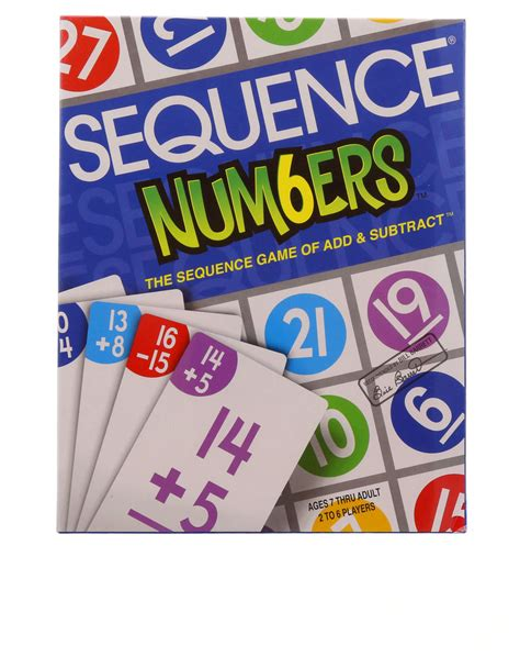 number pattern board games jax sequence numbers board game games games puzzles