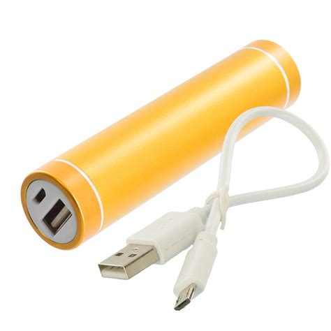 usb phone charger cable 2600mah usb portable external battery power bank pack