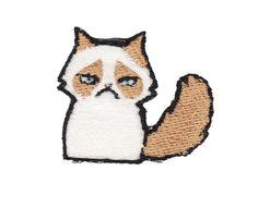 Grumpy Cat Patch best ideas about nutella mmmmm nutella jar and backpack