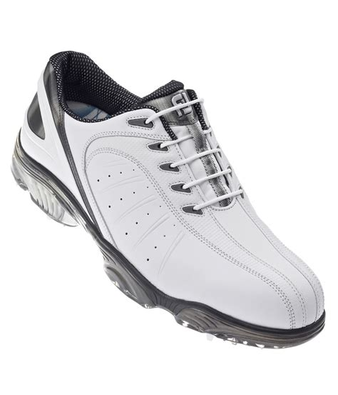 footjoy sport shoes footjoy mens fj sport golf shoes white silver white 2013