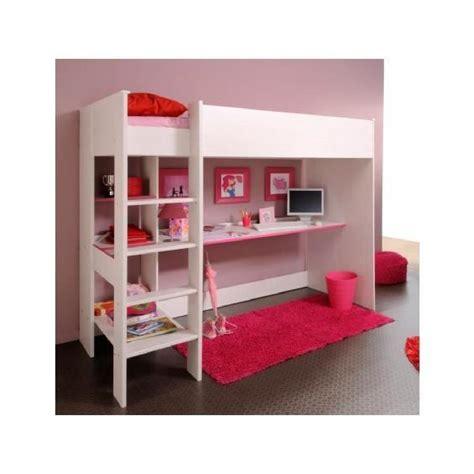 lit superposé avec bureau lit mezzanine avec bureau et rangement achat vente lit