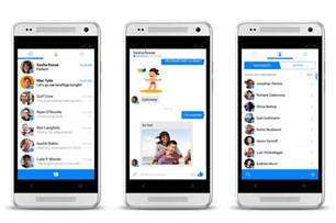 facebook messenger for android gets a complete holo ui