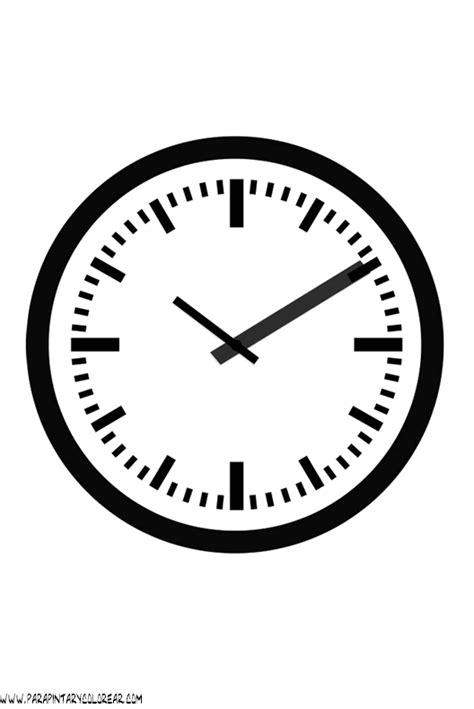 imagenes para colorear reloj relojes para colorear 020