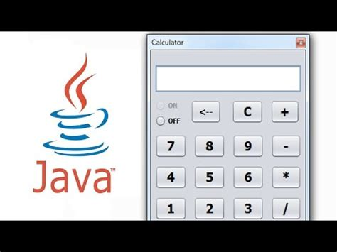 calculator in java using swing java netbeans tutorial how to create a calculator doovi
