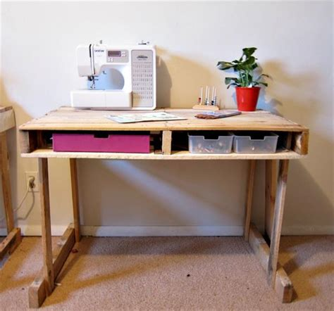 Diy Pallet Desk Recycle Pallets For Different Projects Pallets Designs