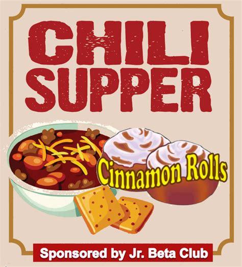 Bryson Middle Jr Beta Club 4th annual jr beta chili day