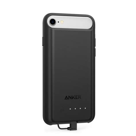 Anker Slimshell Iphone 7 Black A7050111 anker powercore battery 2200 mah for iphone 8 black a1409h11 taw9eel