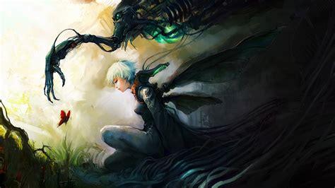 wallpaper anime deviantart asuka111 deviantart com paintings airbrushing anime