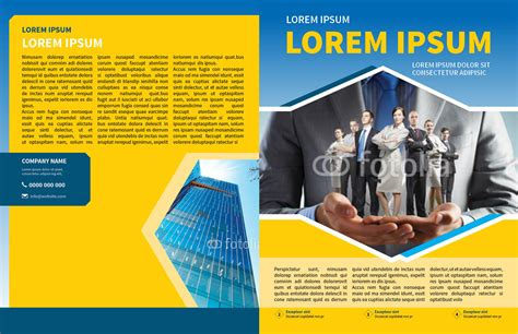 corporate business newsletter template myindesign