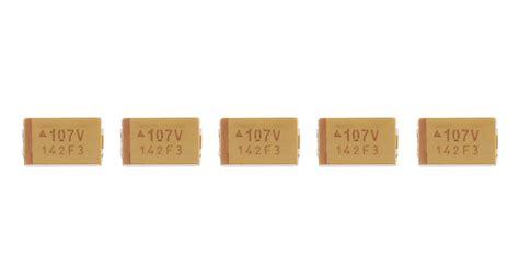 100uf tantalum capacitor smd 1 55 avx 7343 100uf 107v smd tantalum capacitor 5 pack 5 pack authentic 3mm 10