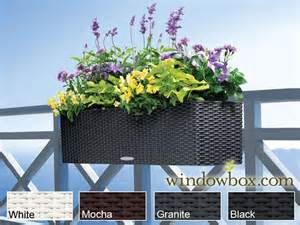 balconera deck planter box fits any railing shape