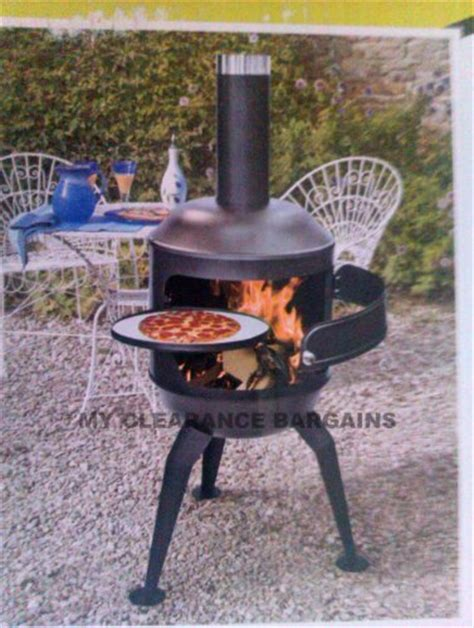 Chiminea Bbq Pizza Oven wood burning pizza oven