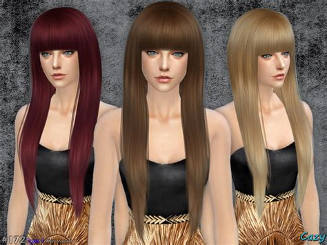 sims 4 female hairstyles the sims resource cazy s izzy female hairstyle