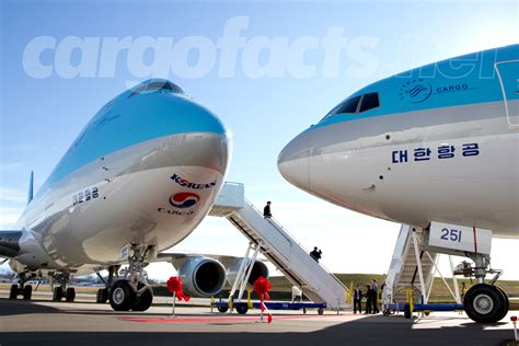 korean air     dual delivery cargo facts