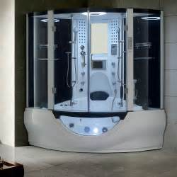 brand new computerized steam shower jetted