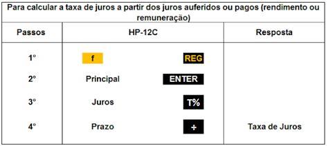 juros do abono de 2011 e 2012 em 2016 finan 231 as com hp e excel juros simples c 225 lculo da taxa de