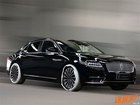 lincoln presidential 2017 lincoln continental presidential to debut in china