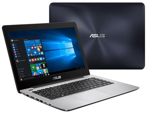 Laptop Asus Yang Kecil asus a456 notebook elegan dengan intel skylake dan usb type c