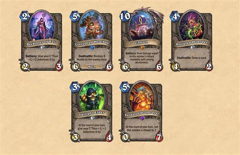 Can You Gift Card Packs In Hearthstone - hearthstone s first 2016 expansion whispers of the old gods out this spring vg247