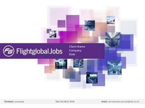 Ppt Templates For Client Presentation   flightglobal jobs client presentation template