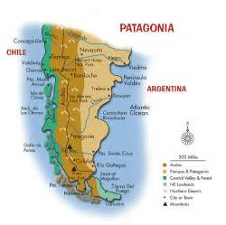map of patagonia south america patagonia home