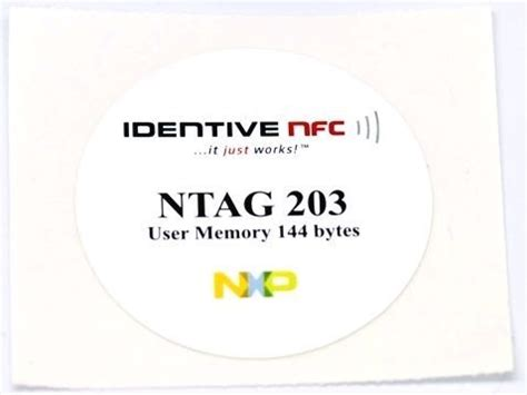 Universal Smart Nfc Tags Ntag203 Stickers For Android Phone universal ntag203 nfc tag sticker for all nfc enabled