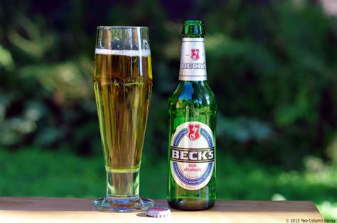 becks light alcohol content brauerei beck company beck s non alcoholic two
