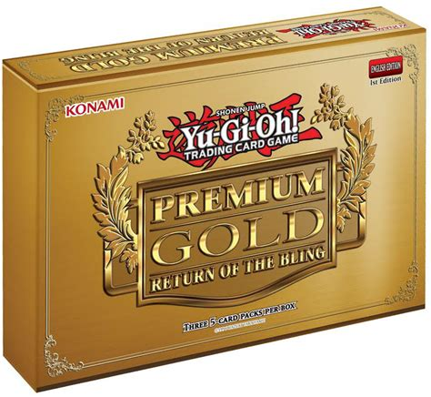 Yu Gi Oh Premium 17 Freesul yugioh premium gold return of the bling mini box 3 mini