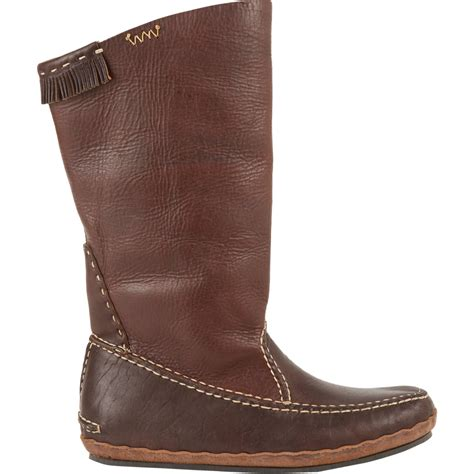 moccasin boots visvim nakota moccasin boots in brown lyst