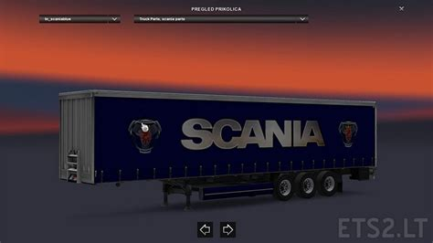 blue trailer scania blue trailer free mods simulator