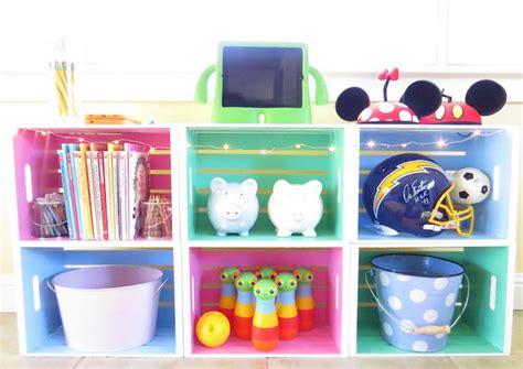 estantes para juguetes c 243 mo hacer una estanter 237 a para juguetes con cajas de madera