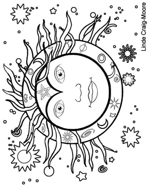 coloring pages for adults sun 345 best images about hippie color pages on pinterest