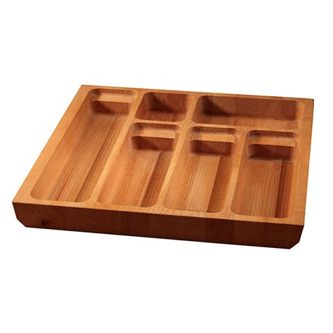 Silverware Drawer Inserts by Solid Beech Cutlery Drawer Inserts Worktop Express