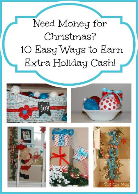 Easy Ways To Win Money - need money for christmas 10 easy ways to earn extra